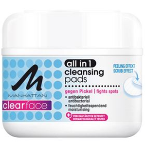 Manhattan Clearface All in 1 Cleansing Pads