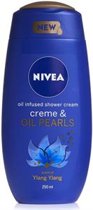 Nivea Creme & Oil Pearls Shower Cream - Ylang-Ylang