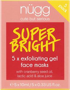 nügg Super Bright Exfoliating & Brightening Face Mask