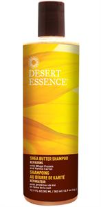 Desert Essence Shea Vajas Regeneráló Sampon