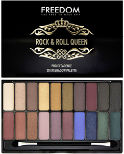 Freedom Makeup Pro Decadence Rock & Roll Queen Paletta