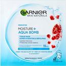 Garnier Skin Naturals Moisture + Aqua Bomb Szuper Hidratáló, Feltöltő Textil Maszk - 32 G