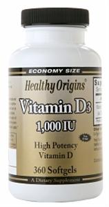 Healthy Origin D3 Vitamin
