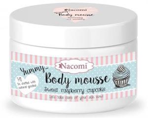 Nacomi Málnás Cupcake Testtápláló Mousse