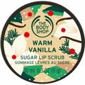 The Body Shop Warm Vanilla Cukros Ajakradír