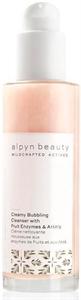 Alpyn Beauty Aha + Gyümölcsenzim Krémes Buborékos Arclemosó