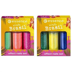 Essence Viva Brasil Effect Nails Set