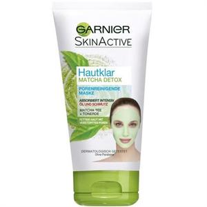 Garnier SkinActive Hautklar Matcha Detox Maszk