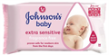 Johnson's Baby Extra Sensitive Törlőkendő