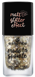 Essence Made To Sparkle Sequin Matt Fedőlakk