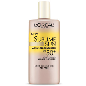 L'Oreal Sublime Sun Advanced Sunscreen SPF50+