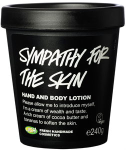 Lush Sympathy For The Skin Testápoló