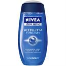 Nivea For Men Vitality Fresh Tusfürdő Testre és Hajra