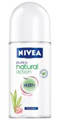 Nivea Pure & Natural Golyós Deo Lotus
