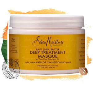 Shea Moisture Raw Shea Butter Moisture Recovery Treatment Masque