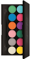 Sleek Ultra Matte Brights V1 I-Divine Palette