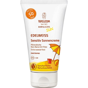 Weleda Baby & Kids Sun Edelweiss Sensitiv Napvédőkrém SPF50