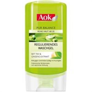 AOK Pur Balance Regulierendes Waschgel Mit Tee & Ginseng-Extrakt