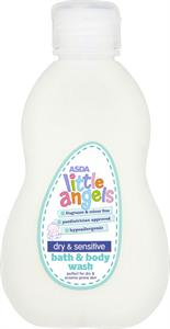 Asda Little Angels Bath & Body Wash