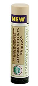 Avalon Organics Nyugtató Vanília-Rozmaring Ajakbalzsam