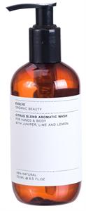 Evolve Organic Beauty Citrusos Bio Folyékony Szappan és Tusfürdő