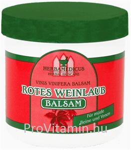 Herbamedicus Vörös Szőlőlevél Balzsam