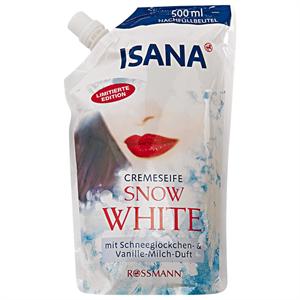 Isana Snow White Folyékony Szappan Utántöltő