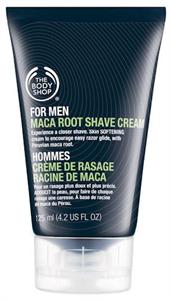 The Body Shop Maca Root borotválkozó krém férfiaknak