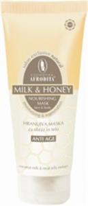 Afrodita Milk And Honey Tápláló Pakolás