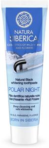 Natura Siberica Polar Night Fluoridmentes Fekete Fogkrém Fehérítő Hatással