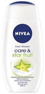 Nivea Care&Star Fruit Krémtusfürdő