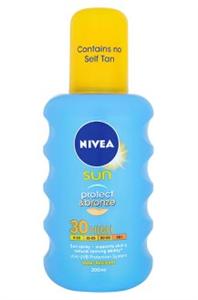 Nivea Sun Protect & Bronze Napozó Spray FF30