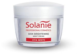 Solanie Vita White Bőrhalványító Éjszakai Krém