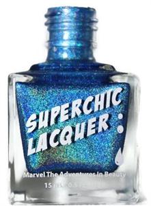 Superchic Lacquer Holografikus Körömlakk