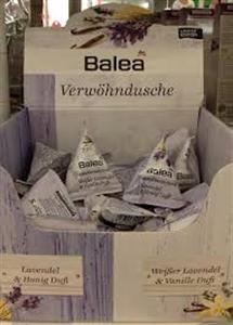 Balea Kényeztető Tusfürdő Fehér Levendula és Vanília Illattal