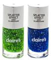Claire's Splatter Effect Körömlakk
