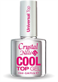 Crystal Nails Cool Top Gel Universal