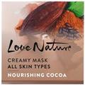 Oriflame Love Nature Krémes Arcmaszk Minden Bőrtípusra Tápláló Kakaóval