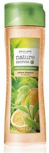 Oriflame Nature Secrets Hajdúsító Sampon Zöld Teával és Bergamottal