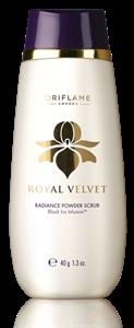 Oriflame Royal Velvet Por Állagú Arcradír