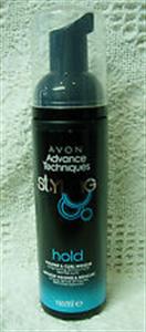 Avon Advance Techniques Dúsító Hajformázó Hab Göndör Hajra