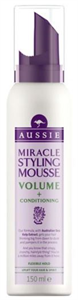 aussie Miracle Styling Mousse Volume + Conditioning