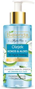 Bielenda Hydra Care Arctisztító Olaj Kókusszal és Aloe Verával
