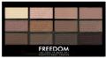 Freedom Makeup Pro 12 Szemhéjpúder Paletta Audacious 3