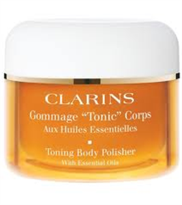 "Clarins Gommage ""Tonic"" Corps Testradír"