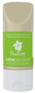 BlueBerry Krémdezodor Citromfű & Levendula