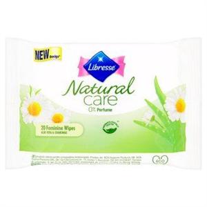 Libresse Natural Care Intim Törlőkendő