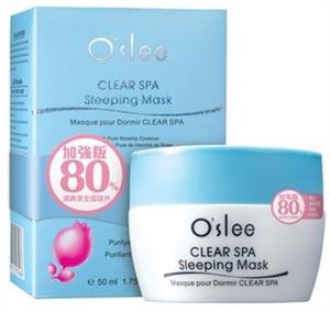 O'slee Clear Spa Sleeping Mask