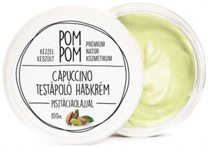 PomPom Cappuccino Testápoló Habkrém Pisztáciaolajjal