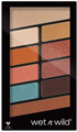Wet N Wild Not A Basic Peach Color Icon Eyeshadow 10 Pan Palette
